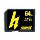 HOODMAN 64GB H LINE SD UHS-1 MEDIA - (MXHS64)