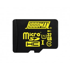 HOODMAN 32GB H LINE MICRO SD MEDIA - (MXHM32)