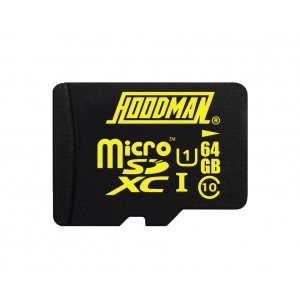 HOODMAN 64GB H LINE MICRO SD MEDIA - (MXHM64)