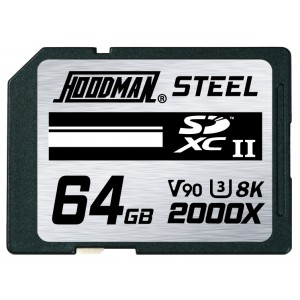 HOODMAN 64GB UHS-2 MEDIA - (MXMH64)